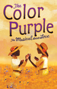 COLOR PURPLE POSTER